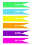 bright-eat me cupcake toppers