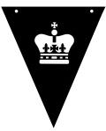 bunting_crown JPEG VECTOR